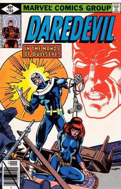 Cover for Daredevil (Marvel, 1964 series) #160 [British]