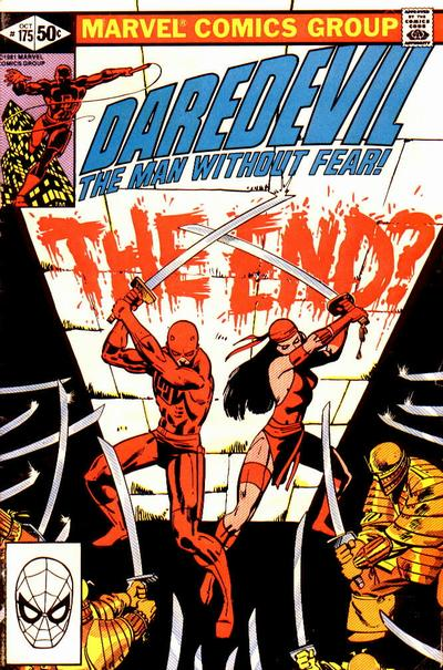 Cover for Daredevil (Marvel, 1964 series) #175 [Newsstand Edition]