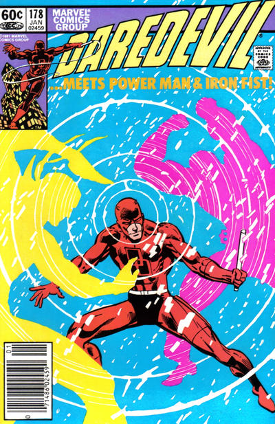 Cover for Daredevil (Marvel, 1964 series) #178 [Newsstand]