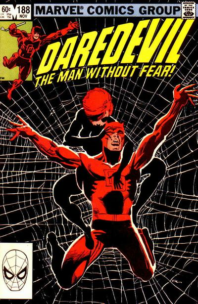 Cover for Daredevil (Marvel, 1964 series) #188 [Direct Edition]