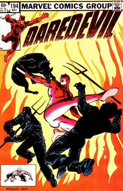 Cover for Daredevil (Marvel, 1964 series) #194 [Direct Edition]