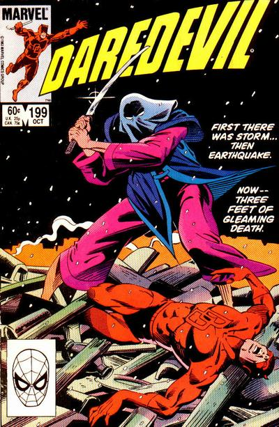 Cover for Daredevil (Marvel, 1964 series) #199 [Canadian]