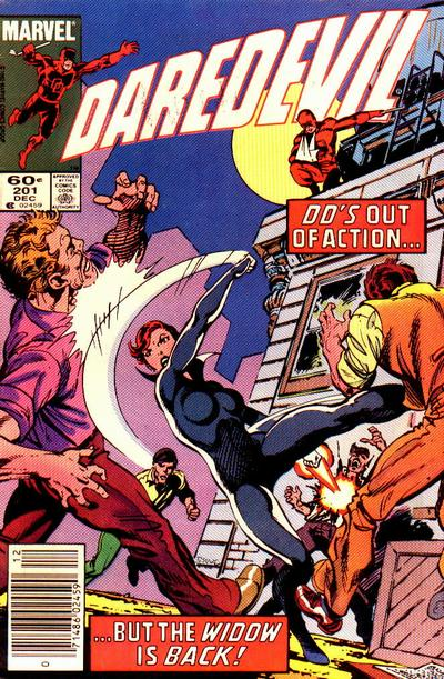 Cover for Daredevil (Marvel, 1964 series) #201 [Direct Edition]