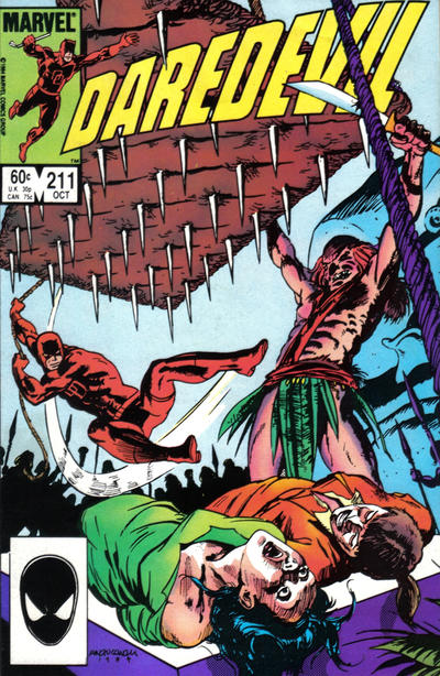 Cover for Daredevil (Marvel, 1964 series) #211 [Direct Edition]