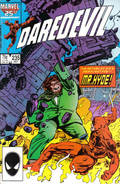 Cover for Daredevil (Marvel, 1964 series) #235 [Direct Edition]
