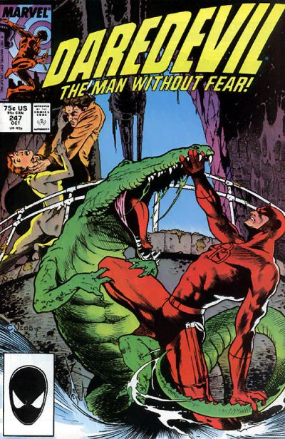 Cover for Daredevil (Marvel, 1964 series) #247 [Newsstand Edition]
