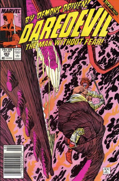 Cover for Daredevil (Marvel, 1964 series) #263 [Direct]