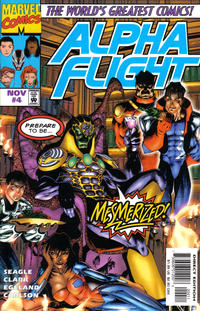 Cover Thumbnail for Alpha Flight (Marvel, 1997 series) #4 [Direct Edition]