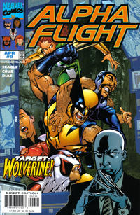 Cover Thumbnail for Alpha Flight (Marvel, 1997 series) #9 [Direct Edition]