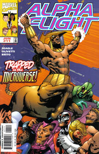Cover Thumbnail for Alpha Flight (Marvel, 1997 series) #11 [Direct Edition]
