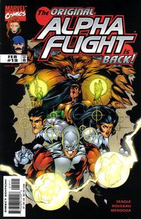 Cover Thumbnail for Alpha Flight (Marvel, 1997 series) #19