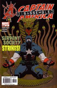 Cover Thumbnail for Captain America (Marvel, 2002 series) #31 [Direct Edition]