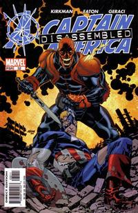 Cover Thumbnail for Captain America (Marvel, 2002 series) #32 [Direct Edition]