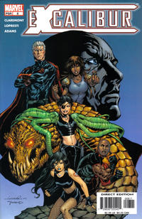 Cover Thumbnail for Excalibur (Marvel, 2004 series) #8 [Direct Edition]