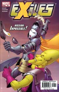 Cover Thumbnail for Exiles (Marvel, 2001 series) #49 [Direct Edition]