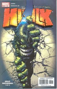 Cover Thumbnail for Incredible Hulk (Marvel, 2000 series) #60 [Direct Edition]