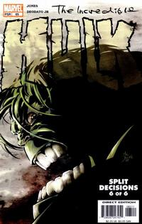 Cover Thumbnail for Incredible Hulk (Marvel, 2000 series) #65