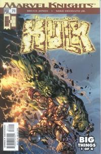 Cover Thumbnail for Incredible Hulk (Marvel, 2000 series) #71