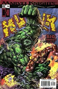 Cover Thumbnail for Incredible Hulk (Marvel, 2000 series) #74
