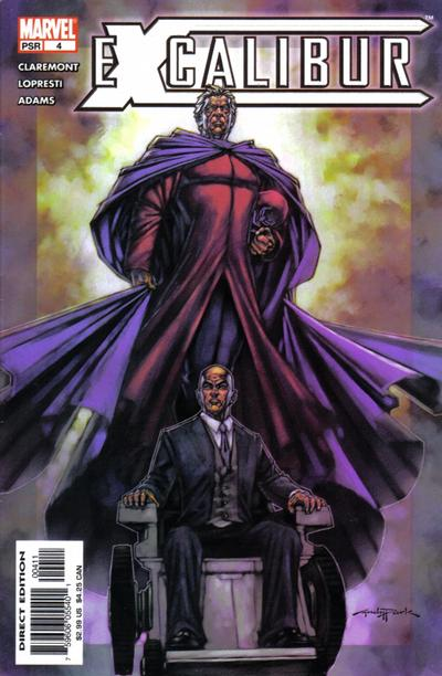 Cover for Excalibur (Marvel, 2004 series) #4 [Direct Edition]