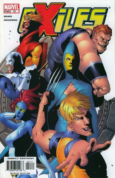Cover for Exiles (Marvel, 2001 series) #51 [Direct Edition]