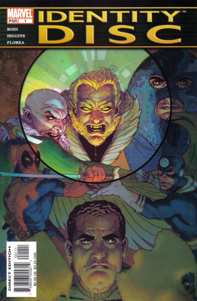 Cover for Identity Disc (Marvel, 2004 series) #1