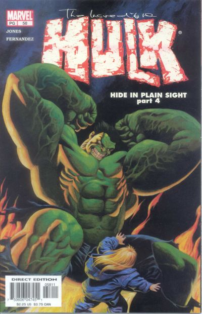 Cover for Incredible Hulk (Marvel, 2000 series) #58