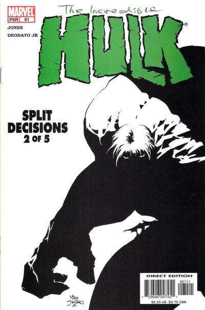 Cover for Incredible Hulk (Marvel, 2000 series) #61