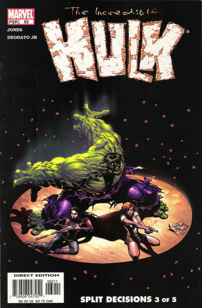 Cover for Incredible Hulk (Marvel, 2000 series) #62