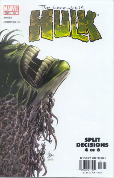 Cover for Incredible Hulk (Marvel, 2000 series) #63
