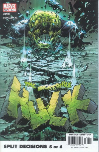 Cover for Incredible Hulk (Marvel, 2000 series) #64