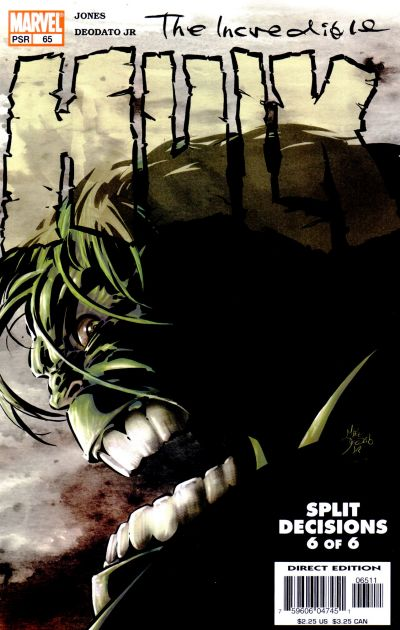 Cover for Incredible Hulk (Marvel, 2000 series) #65