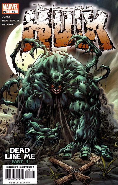 Cover for Incredible Hulk (Marvel, 2000 series) #69