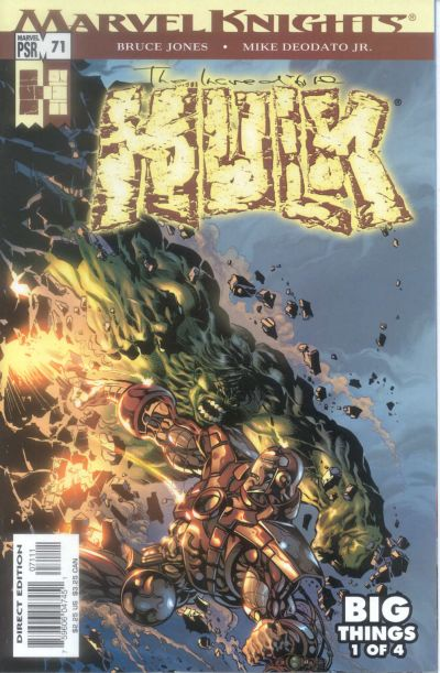 Cover for Incredible Hulk (Marvel, 2000 series) #71