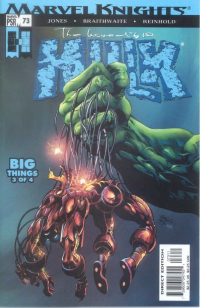 Cover for Incredible Hulk (Marvel, 2000 series) #73