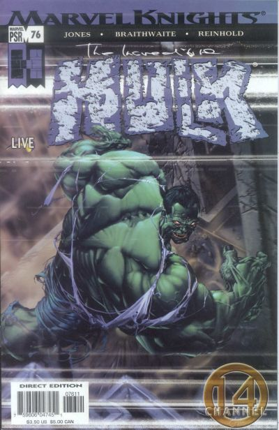 Cover for Incredible Hulk (Marvel, 2000 series) #76