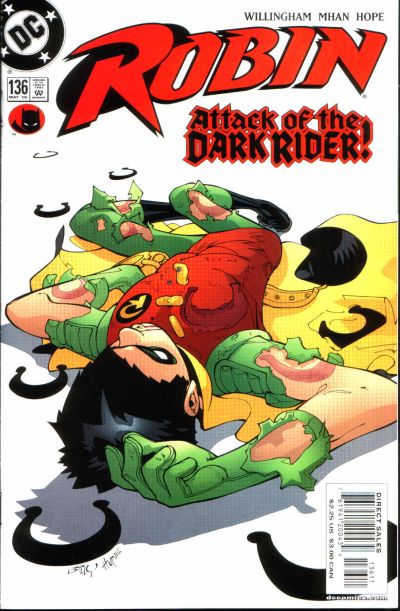 Cover for Robin (DC, 1993 series) #136