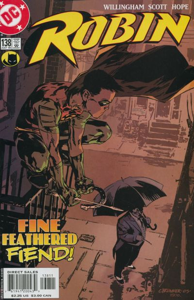 Cover for Robin (DC, 1993 series) #138