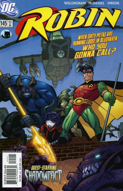 Cover for Robin (DC, 1993 series) #145