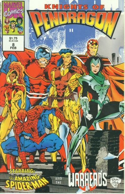 Cover for Knights of Pendragon (Marvel, 1992 series) #8