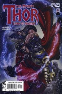 Cover Thumbnail for Thor (Marvel, 1998 series) #52 (554)