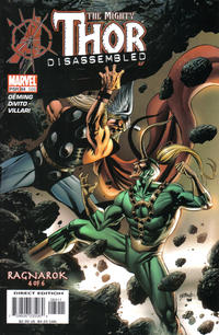 Cover Thumbnail for Thor (Marvel, 1998 series) #84 (586)