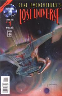 Cover Thumbnail for Gene Roddenberry's Lost Universe (Big Entertainment, 1995 series) #1 [Direct Sales]