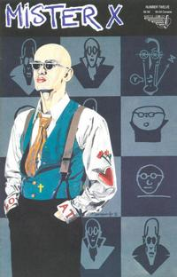 Cover Thumbnail for Mister X (Vortex, 1989 series) #12