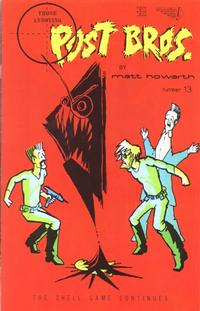 Cover Thumbnail for Those Annoying Post Bros. (Vortex, 1985 series) #13