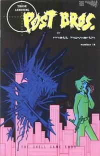 Cover Thumbnail for Those Annoying Post Bros. (Vortex, 1985 series) #14