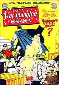 Cover Thumbnail for Star Spangled Comics (DC, 1941 series) #89