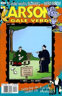 Cover Thumbnail for Larsons gale verden (Bladkompaniet, 1992 series) #7/2002