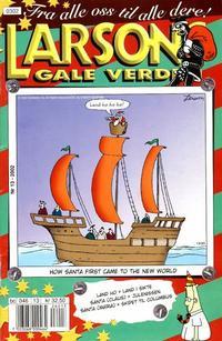 Cover Thumbnail for Larsons gale verden (Bladkompaniet / Schibsted, 1992 series) #13/2002