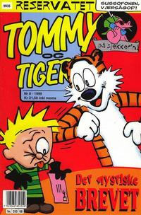 Cover Thumbnail for Tommy og Tigern (Bladkompaniet / Schibsted, 1989 series) #8/1999